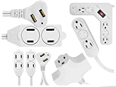 5-Pack Extension Cord Combo