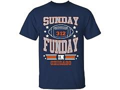 Sunday Funday Football T-Shirts