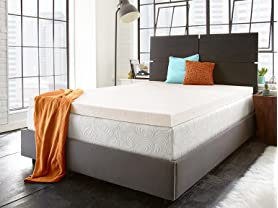 PuraSleep Copper Comfort Gel Memory Foam Topper