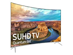 "Samsung 55"" LED Curved 4K SUHD TV"