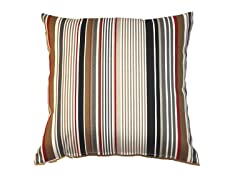 16-Inch Throw Pillow, 2-Pack - Ebony