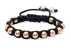 18 kt Rose Gold Plated Stretch Bracelet