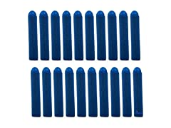 Dimple 20PC Set Foam Toy Dart, Refill Pack Blue