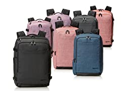 AmazonBasics Carry-On Travel Backpack- Pick Style