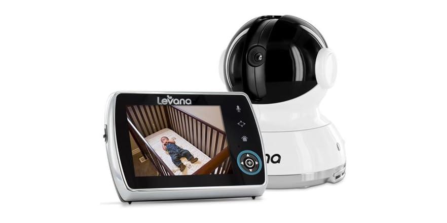 levana keera 3 5 ptz video monitor. Black Bedroom Furniture Sets. Home Design Ideas