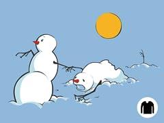 Snowmen in Heat Long-Sleeve Tee