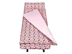Horses in Pink Nap Mat