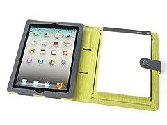 Booqpad for iPad 2/3/4 - Gray/Green