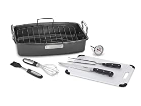 Cuisinart 8 Pc. Roaster with Essential Tools