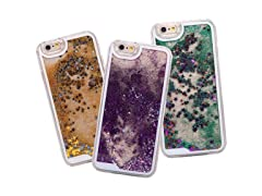 Maze Glitter Waterfall Case for iPhone