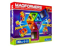 MAGFORMERS 63076 Rainbow 30 PC Set