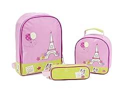 Aquarella Kids Pink Paris 3-Pc Bundle