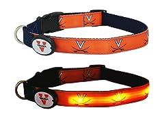 University of Virginia LED Collar - Med
