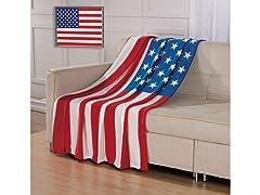USA Flag Throw