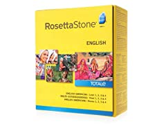 Rosetta Stone Levels 1-4 - English