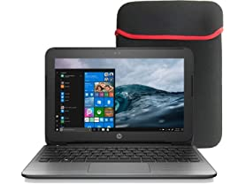 "HP Stream 11"" Intel 64GB Notebook w/Case"