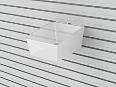 Flow Wall Medium Hard Bins 3-Pack, Clear
