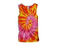Womens Ribbed Tank - Cherry Mango (S-XL)