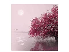 Sainte-Laudy Full Moon on Lake (2 Sizes)