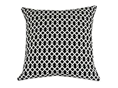 Ellis Panther 26x26 Floor Pillow