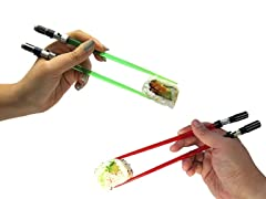 2pc Lightsaber Chopsticks - Vader & Yoda