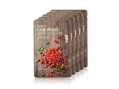 Real Nature Goji Berry Face Mask -5Pack