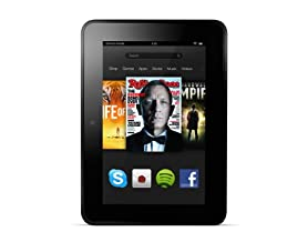 "Amazon Kindle Fire HD 7"" Wi-Fi Tablets"