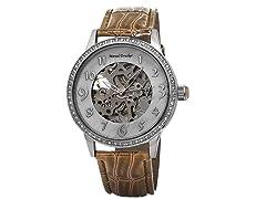 Ladies Skeleton Automatic Watch