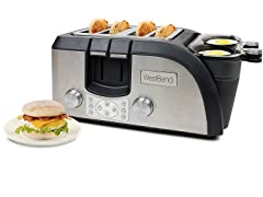 West Bend Breakfast Station Egg and Muffin Toaster Oven
