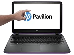 "HP 17.3"" Touchscreen A10 Quad-Core Laptops"