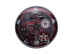 Alexei Red Guardian 5 Lapel Pin Set
