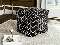 French Leaf Pouf - 2 Styles