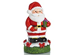 Santa Clause Statue, Red