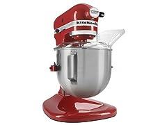 KitchenAid Heavy Duty 5Qt Mixer-Red