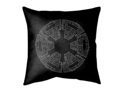 """Empire Circuit"" Double Sided Pillow"