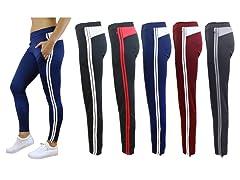 Womens 2PK ASST Track Jogger Pants