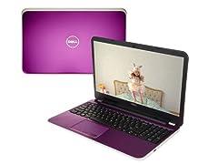 "Dell 15.6"" AMD A10 Quad-Core Laptop"