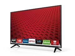 """VIZIO 40"""" 1080p Full‑Array LED Smart TV"""