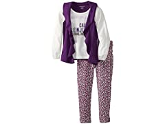Top with Vest & Leggings (4-6X)