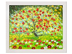Klimt - The Apple Tree : 24X20
