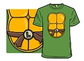 Blue Turtle Costume