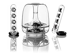 HK SoundSticks III 2.1 Channel Speaker System
