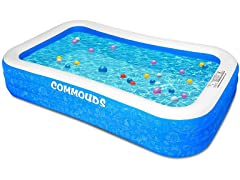 Commouds Inflatable Swimming