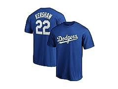 Clayton Kershaw Jersey T-Shirt
