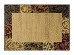 Olivia Area Rug Tan - 5 Sizes