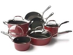 KitchenAid 10-Piece Nonstick Cookware Set