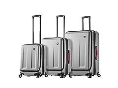Mia Toro ITALY Esotico Hardside Spinner Luggage 3 Piece set