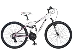 "Mongoose Women's 26"" White Maxim Bike"