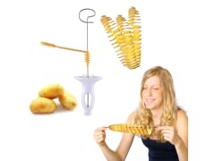 6-Piece Easy Potato Spiral Cutter Set