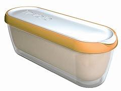 Glide-a-Scoop Ice Cream Tub: Orange Crush
